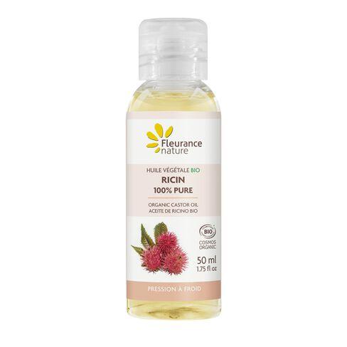 Huile végétale Bio de Ricin 100% pure cosmétique bio