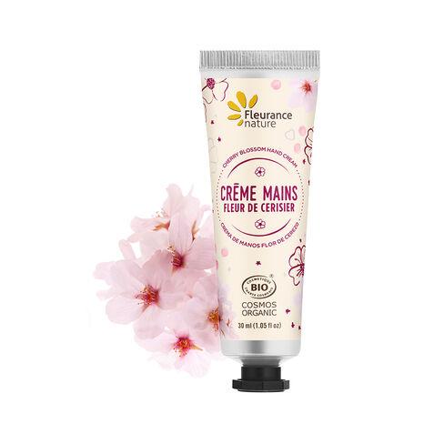 crème mains à la fleur de cerisier cosmétque bio