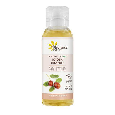 Huile végétale Bio de Jojoba 100% pure cosmétique bio