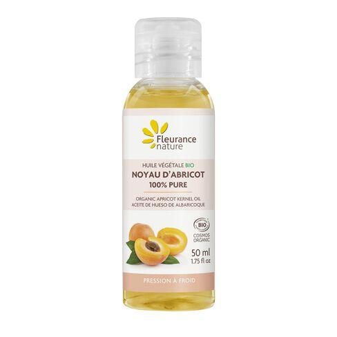 Huile végétale Bio de noyau d'Abricot 100% pure cosmétique bio