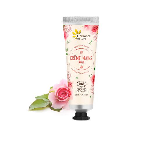 Crème mains à la Rose cosmétique bio