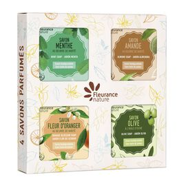 Box of 4 scented soaps