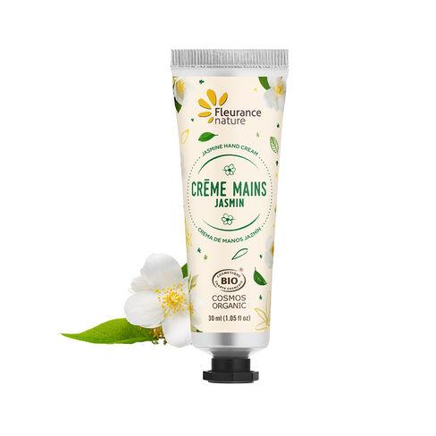 Crème mains au jasmin cosmétique bio