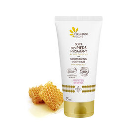 Moisturizing foot care with Royal Jelly
