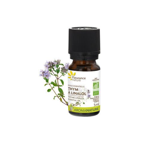 huile essentielle de thym à linalol bio complément alimentaire bio