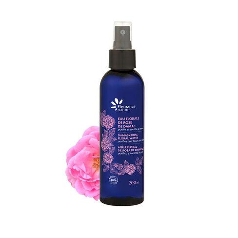 Eau florale de Rose de Damas 200 ml cosmétique bio