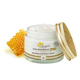 Regenerating night cream with Royal Jelly