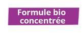 Formule bio concentrée